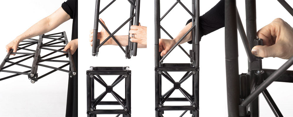 Sistema truss configurable
