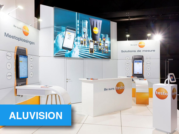 Stands Aluvision
